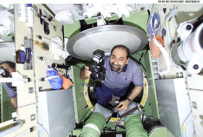 Umberto guidoni allenamento addestramento volo spaziale degli astronauti