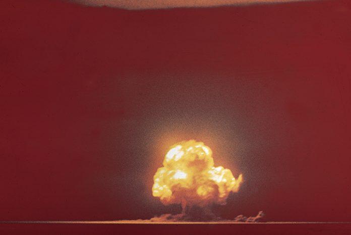 bomba atomica trinity test