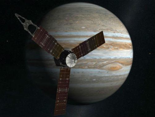 Juno in rampa di lancio verso Giove