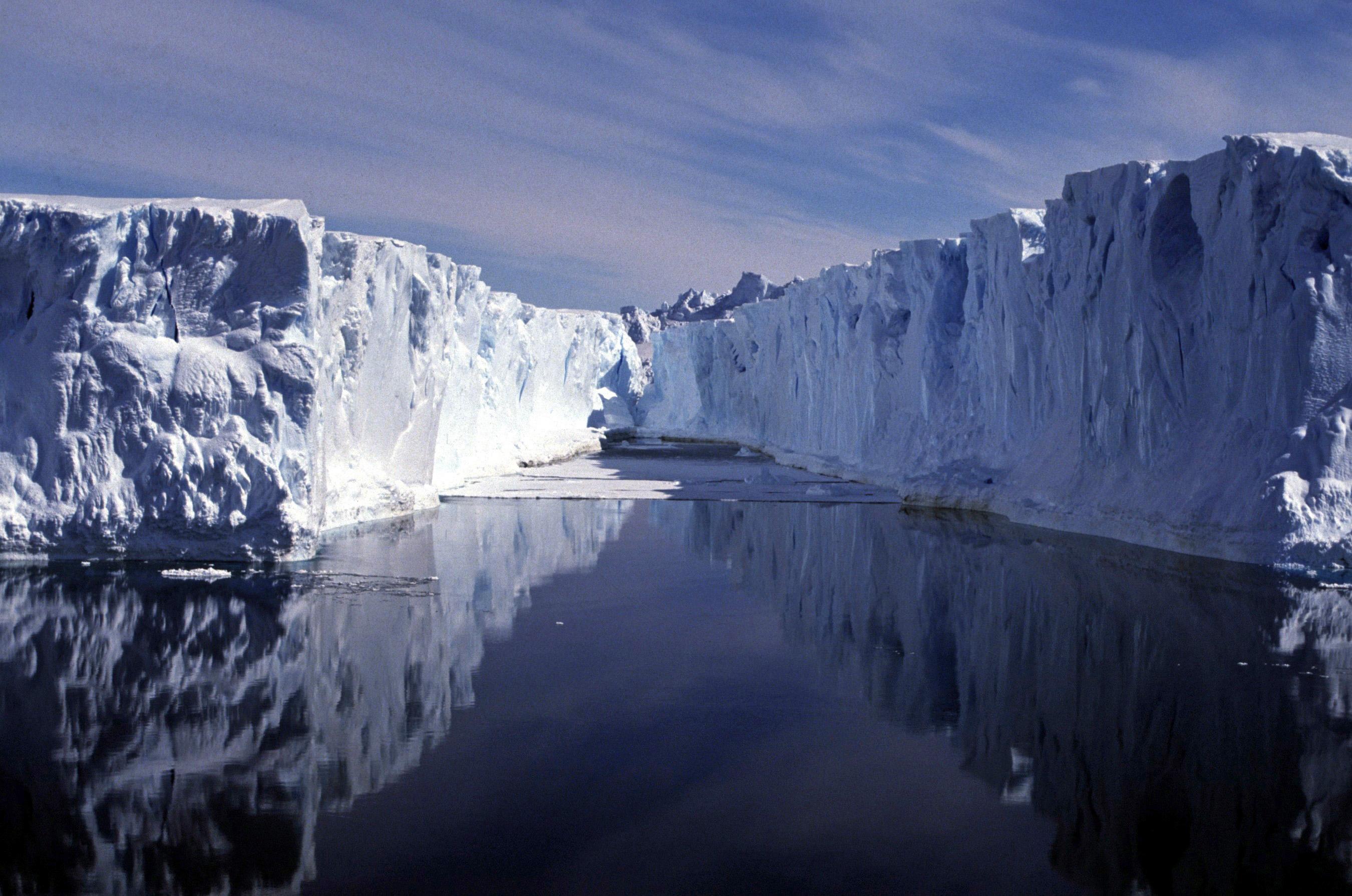 carbonio datazione campioni di ghiaccio