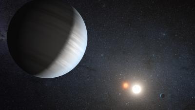 Il sistema planetario con due soli