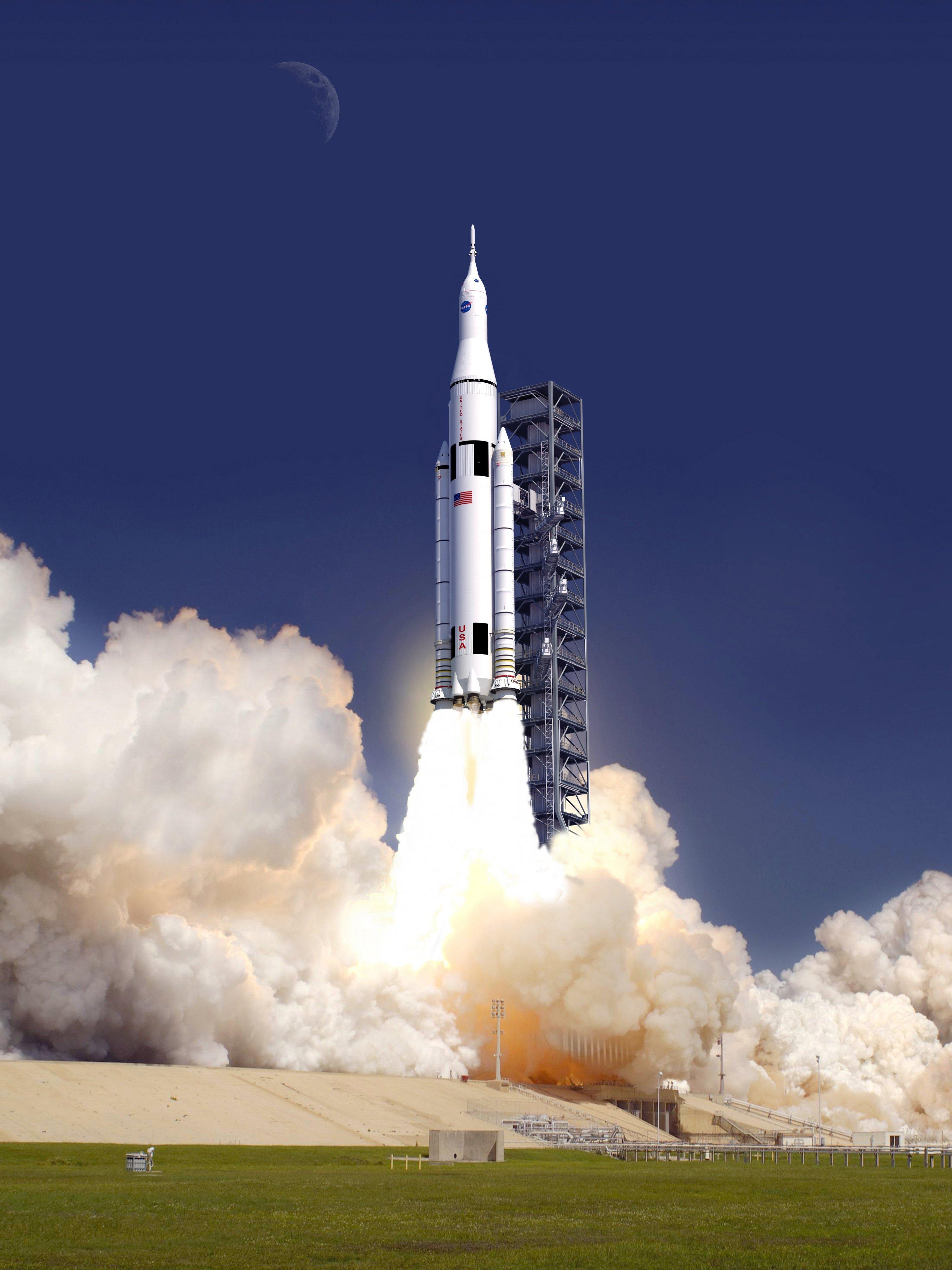 Il nuovo razzo per esplorare l'Universo