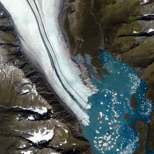 I ghiacciai visti dallo Spazio, prima che scompaiano