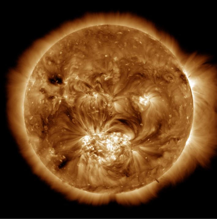 Corona solare, ecco perché è così calda