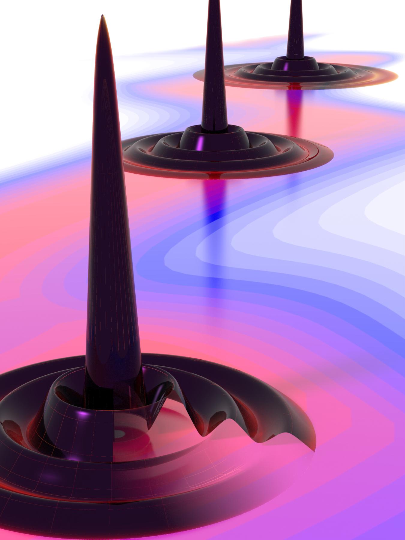 Ecco la gocciolina quantistica