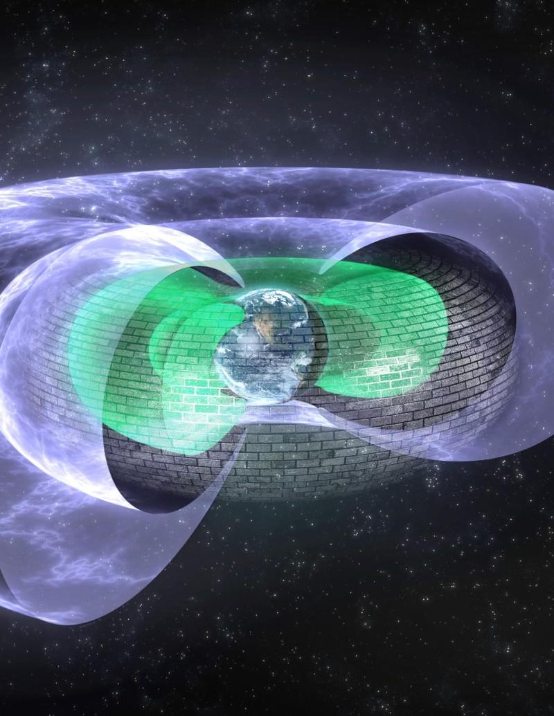 La Terra ha il suo scudo invisibile, come in Star Trek