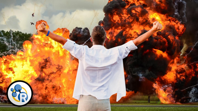 La scienza delle esplosioni cinematografiche