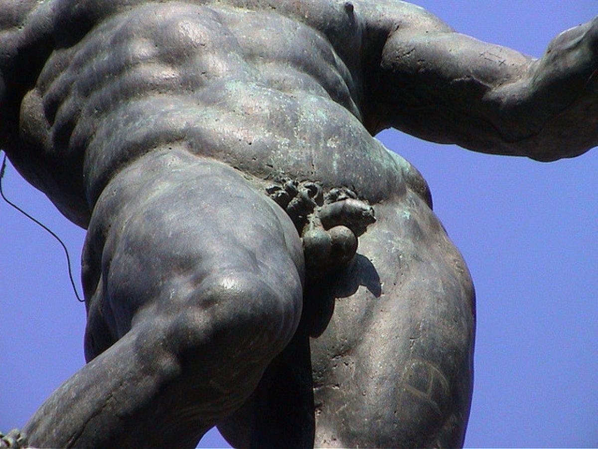 erezione della dimensione del cazzo maschile)