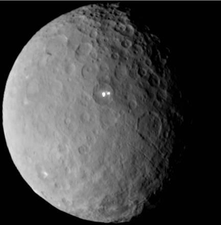 Cosa sono i due misteriosi punti luminosi su Cerere? - Galileo