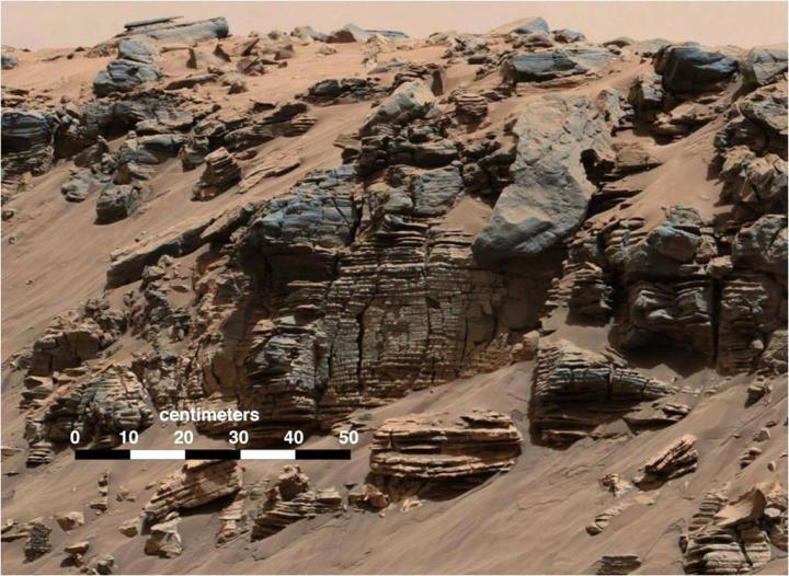 C'è acqua allo stato liquido su Marte? - Galileo