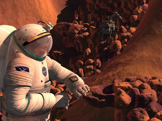 Viaggi su Marte, il cervello è a rischio - Galileo