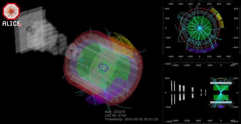 Record di energia per le collisioni dell'Lhc
