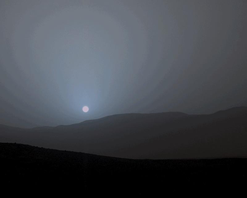 Ecco il tramonto su Marte - Galileo