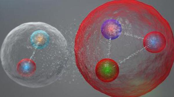 Lhc scopre la particella a cinque quark