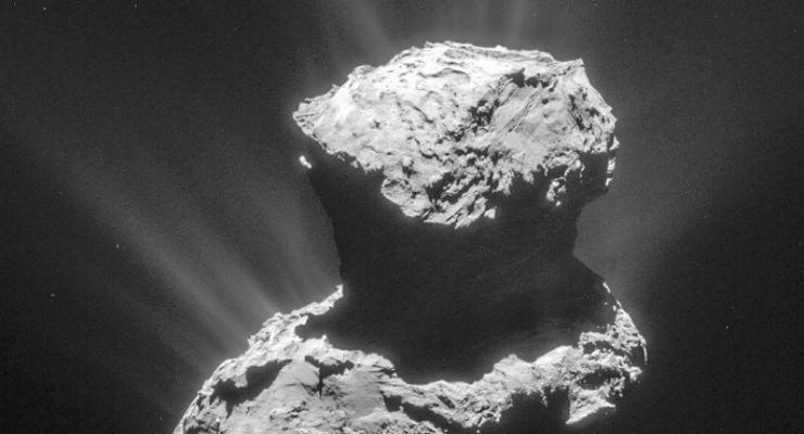Ingredienti della vita sulla cometa di Rosetta - Galileo
