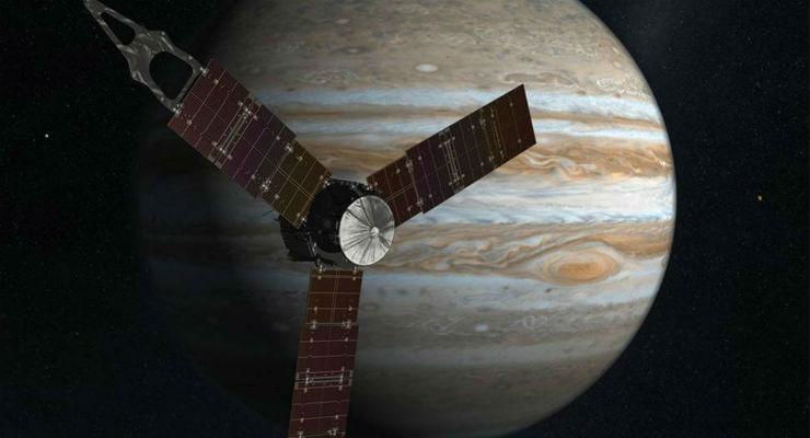 La sonda Juno sta per arrivare su Giove