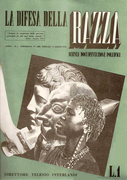 Il manifesto del razzismo italiano