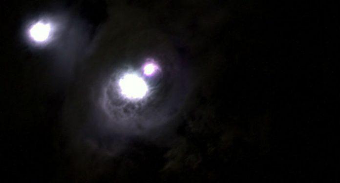 luce stazione spaziale
