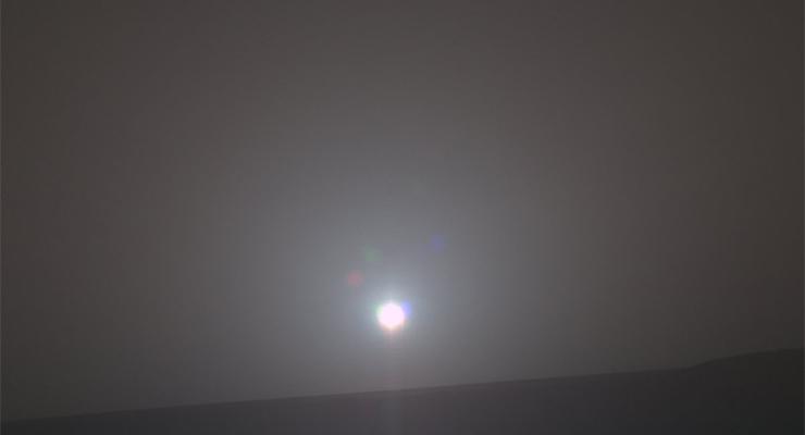 Alba su Marte