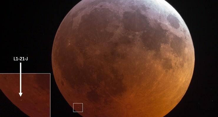 impatto sulla Luna