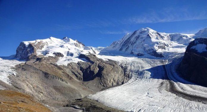 ghiacciai delle alpi
