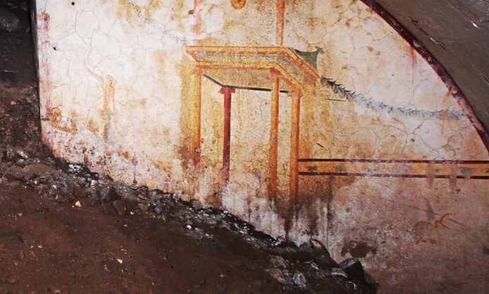 domus aurea sala della sfinge
