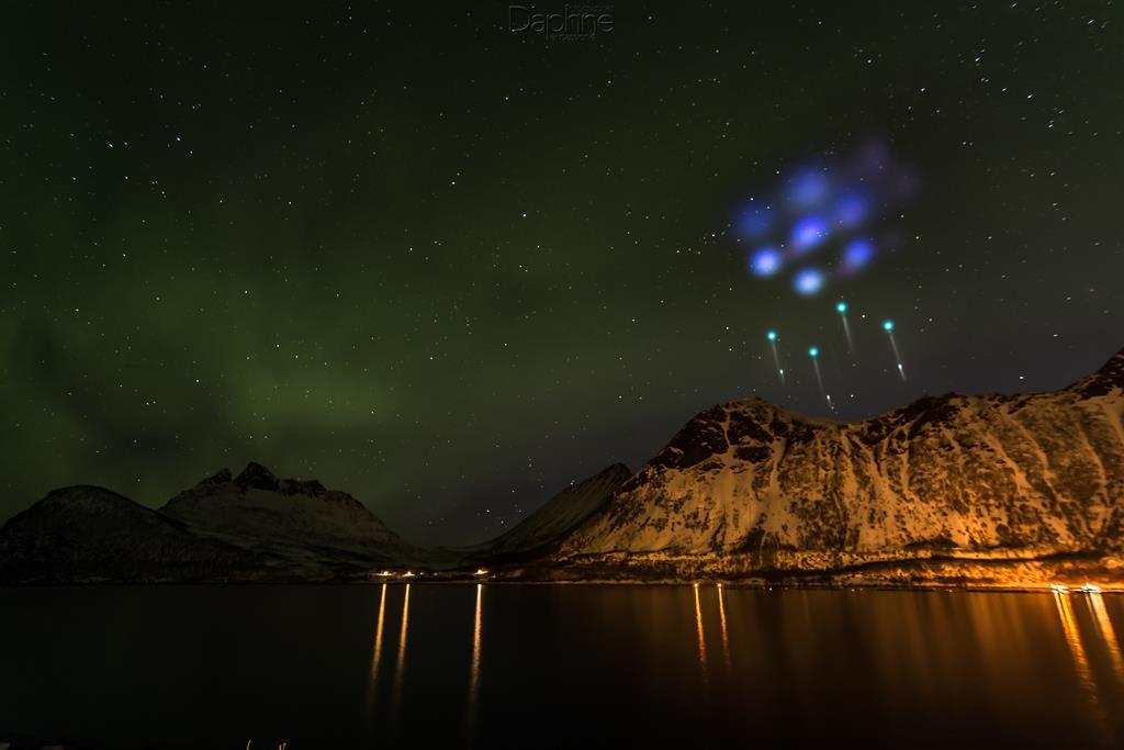 aurore polari aurore boreali nasa