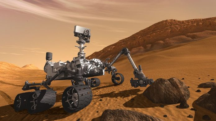 curiosity news metano marte