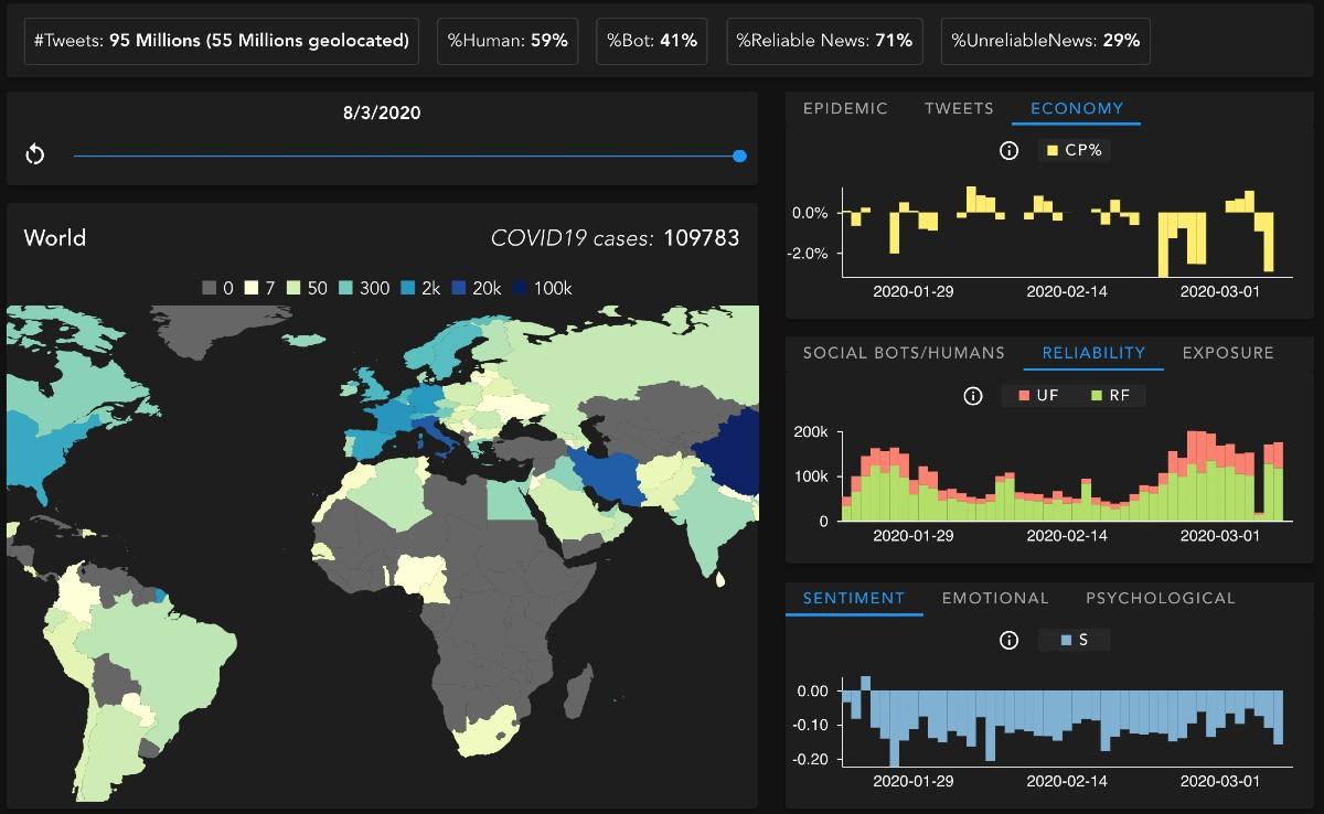 Coronavirus Una Mappa Anche Per La Febbre Dell Informazione Galileo