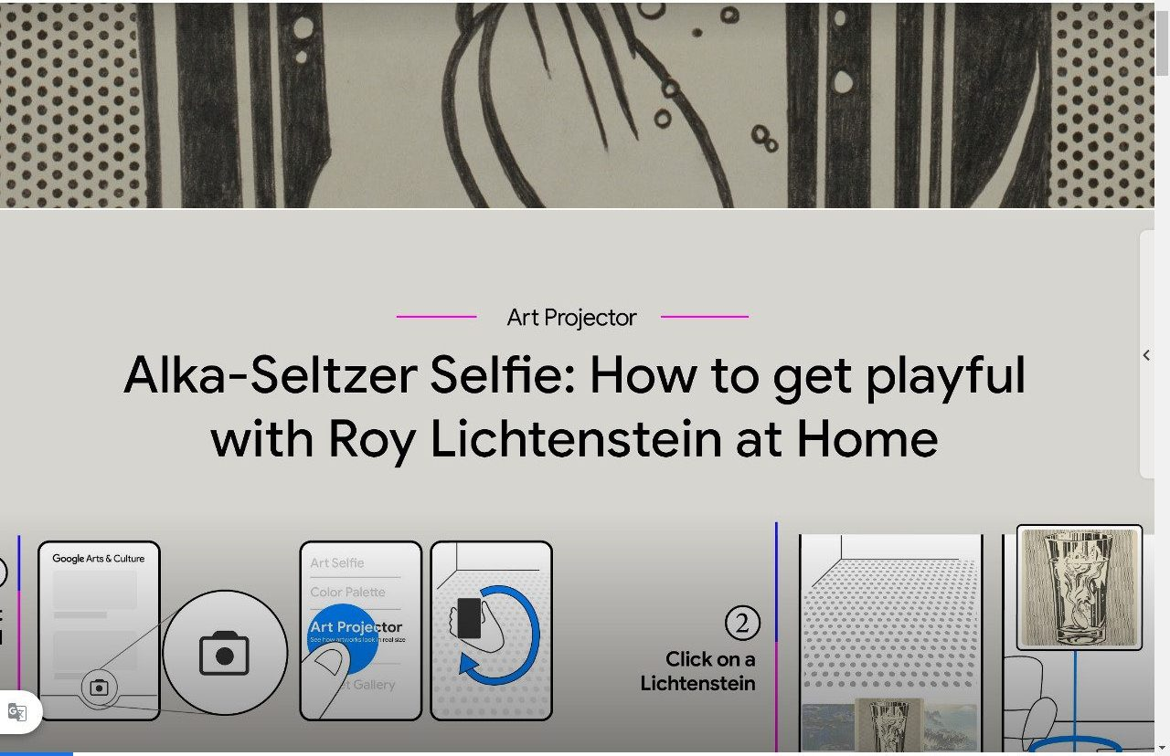 lichteinstein selfy virtuale