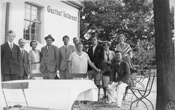 rnst Witt, Paul Bernays, Helene Weyl. Hermann Weyl, Joachim Weyl, Emil Artin,, Emmy Noether, Ernst Knauf;,??;, Chiuntze Tsen, Erna Bannow