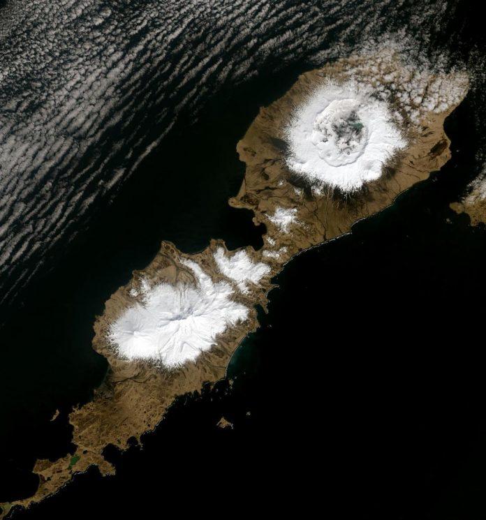 eruzione alaska vulcano repubblica romana storia clima parelio