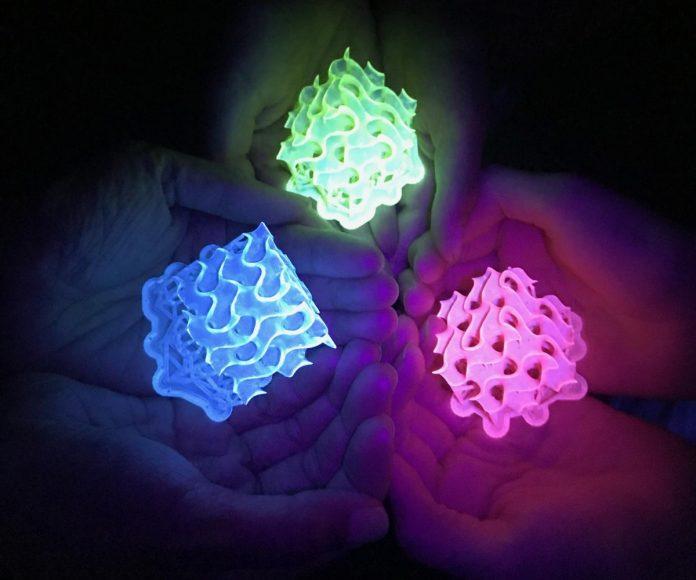 materiale fluorescente