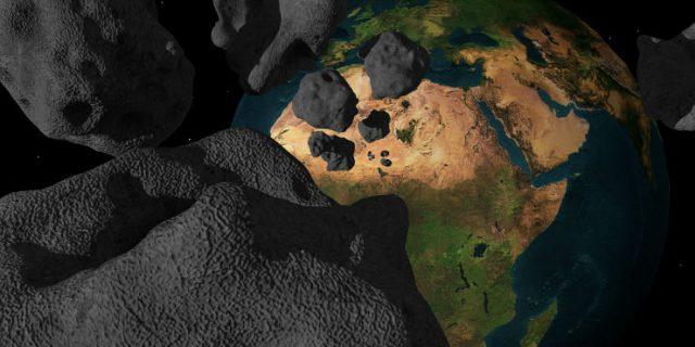 impatto con un asteroide